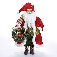 Kurt Adler 18-in. Standing Santa Christmas Decor