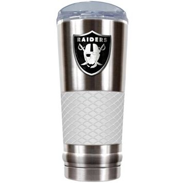 Oakland Raiders 24-Ounce Draft Stainless Steel Tumbler