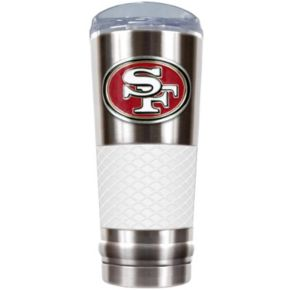 San Francisco 49ers 24-Ounce Draft Stainless Steel Tumbler