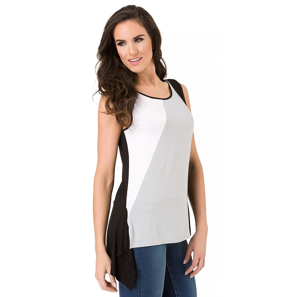 Women's Haggar Color Block Top