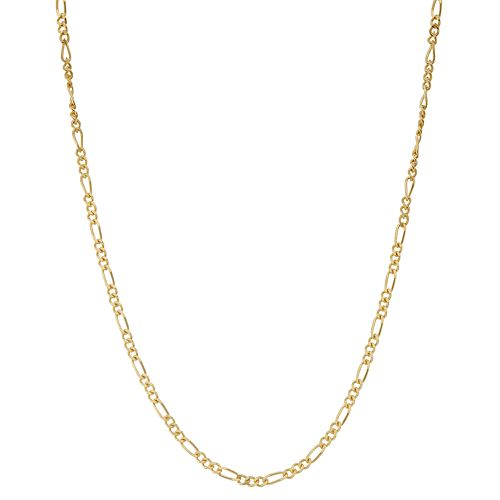 Junior Jewels Kids' Sterling Silver Figaro Chain Necklace