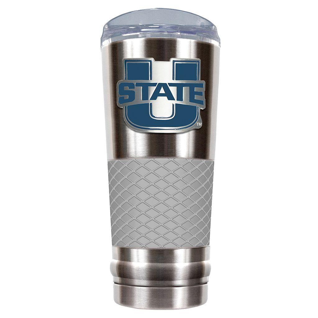 Utah State Aggies 24-Ounce Draft Stainless Steel Tumbler