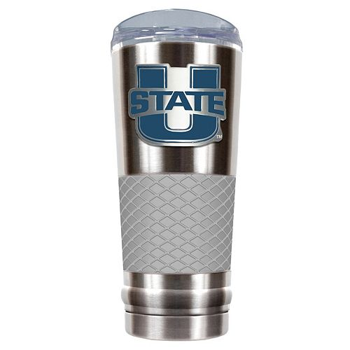 Utah State Aggies 24-Ounce Draft Stainless Steel Tumbler