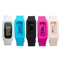 B-Fit Women's Activity Tracker & Interchangeable Band Set - KO2201BK598-078
