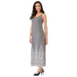 Women's Haggar Printed Maxi Dress