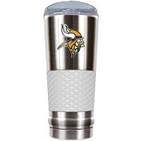 Minnesota Vikings 24-Ounce Draft Stainless Steel Tumbler