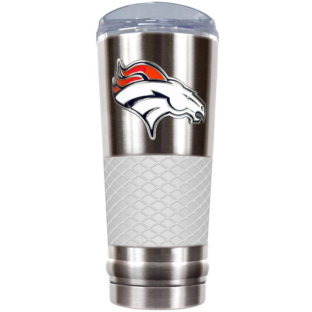 Denver Broncos 24-Ounce Draft Stainless Steel Tumbler