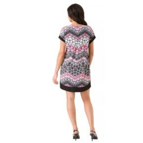 Women's Haggar Cap Sleeve Tunic Dress
