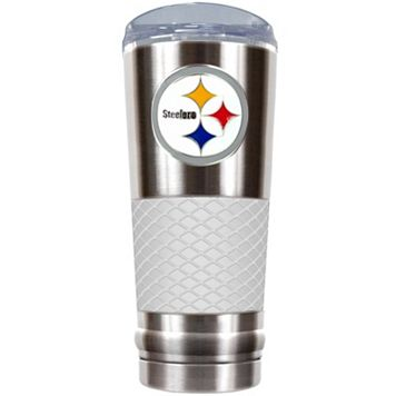 Pittsburgh Steelers 24-Ounce Draft Stainless Steel Tumbler