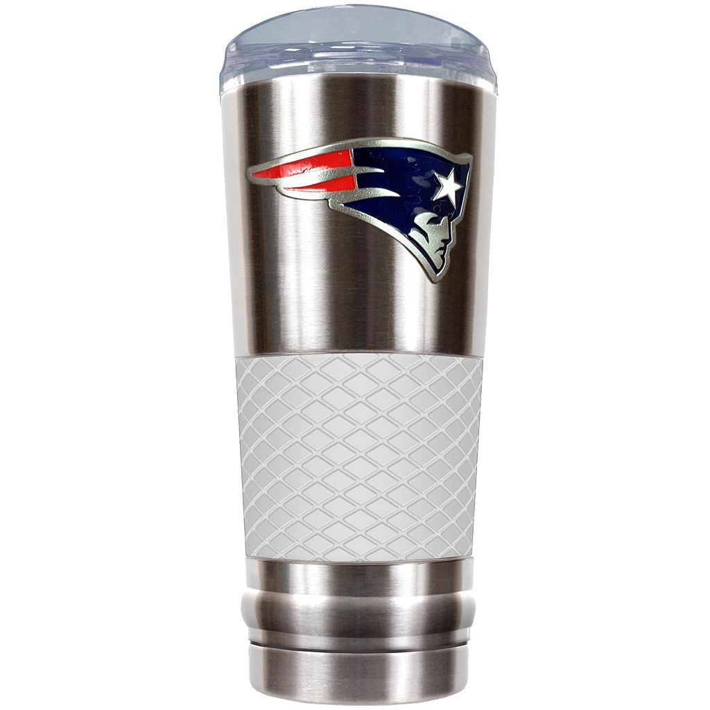 New England Patriots 24-Ounce Draft Stainless Steel Tumbler