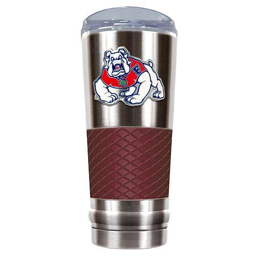Fresno State Bulldogs 24-Ounce Draft Stainless Steel Tumbler