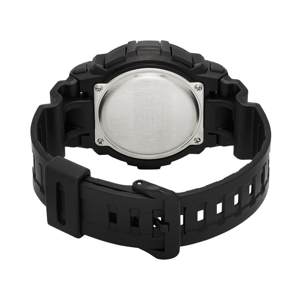 Casio Men's Analog-Digital World Time Watch - AEQ200W-1AV