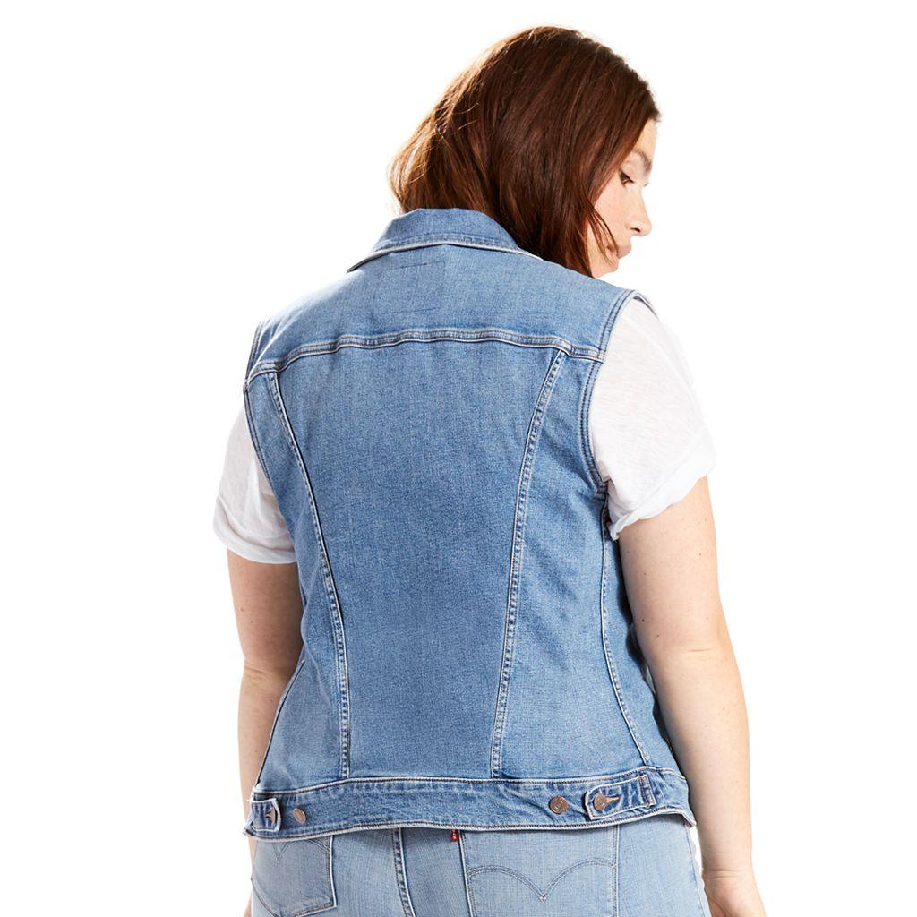 Plus Size Levi's® Jean Vest