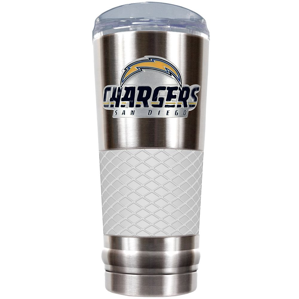 San DiegoChargers 24-Ounce Draft Stainless Steel Tumbler