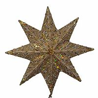 Kurt Adler 16-in. Beaded Star Christmas Tree Topper