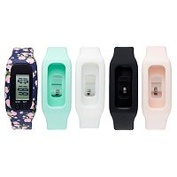 B-Fit Women's Activity Tracker & Interchangeable Band Set - KO2219BK598-078