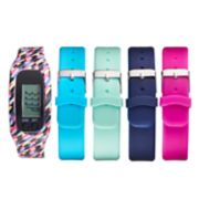 B-Fit Women's Activity Tracker & Interchangeable Band Set - KO2226BK598-078