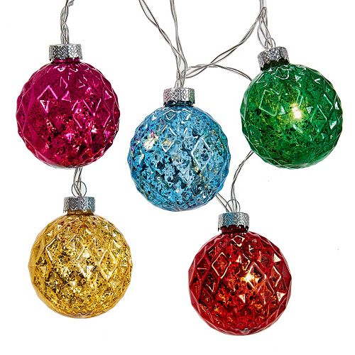 Kurt Adler Multicolored String Christmas Lights
