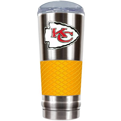 Kansas City Chiefs 24-Ounce Draft Stainless Steel Tumbler