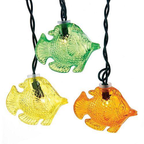 Kurt Adler Mini Fish Light Set