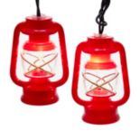 Kurt Adler Prospector Lantern Light Set