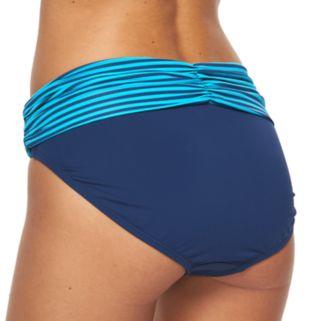 Women's Apt. 9® Printed Fold-Over Scoop Bikini Bottoms