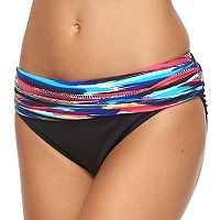 Women's Apt. 9® Printed Fold-Over Scoop Bikini Bottoms