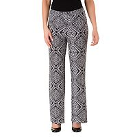 Women's Haggar Geometric Wide-Leg Pull-On Pants