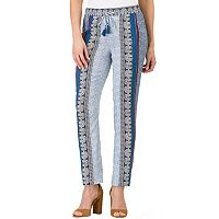 Women's Haggar Print Pull-On Pants