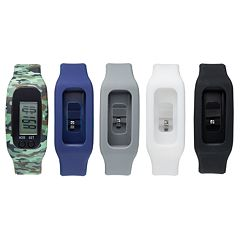 B-Fit Men's Activity Tracker & Interchangeable Band Set - KO5376BK599-078