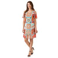 Women's Haggar Medallion Shift Dress