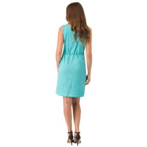 Women's Haggar Crochet-Trim Tank Dress
