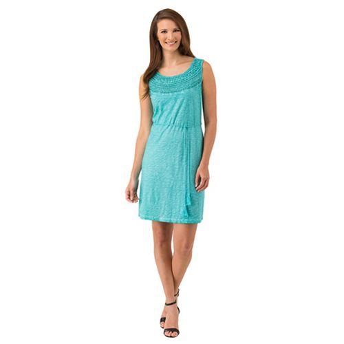 Women's Haggar Crochet-Trim Tank Dress
