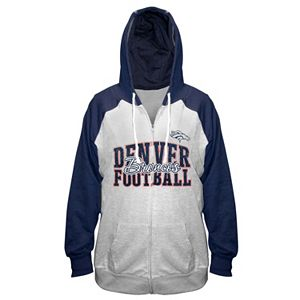 Plus Size Majestic Denver Broncos Spark Hoodie