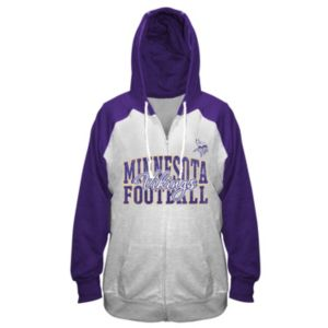 Plus Size Majestic Minnesota Vikings Spark Hoodie