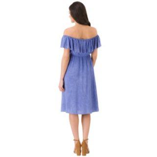 Women's Haggar Ruffle Off-the-Shoulder Dress