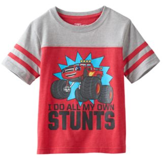 "Toddler Boy Blaze and the Monster Machines ""I Do All My Own Stunts"" Blaze Graphic Tee"