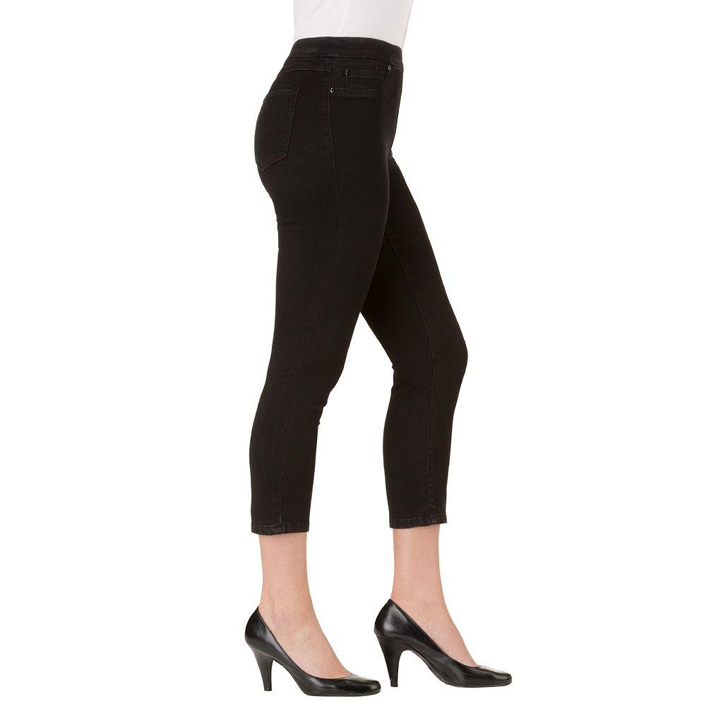 Women's Haggar Pull-On Skinny Capri Jeans