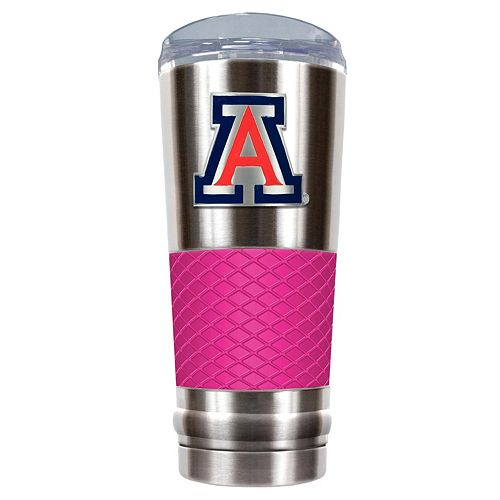 Arizona Wildcats 24-Ounce Draft Stainless Steel Tumbler
