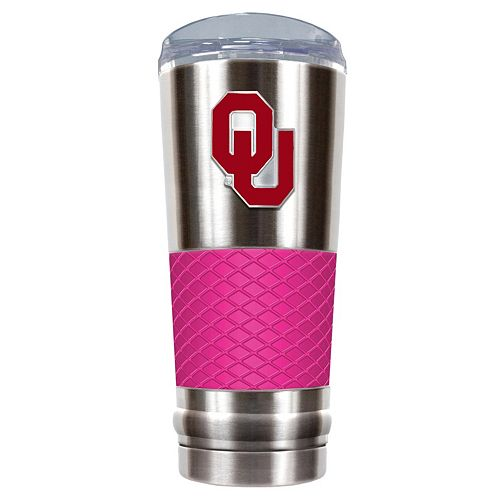 Oklahoma Sooners 24-Ounce Draft Stainless Steel Tumbler