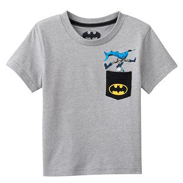 Toddler Boy Batman Pocket Graphic Tee