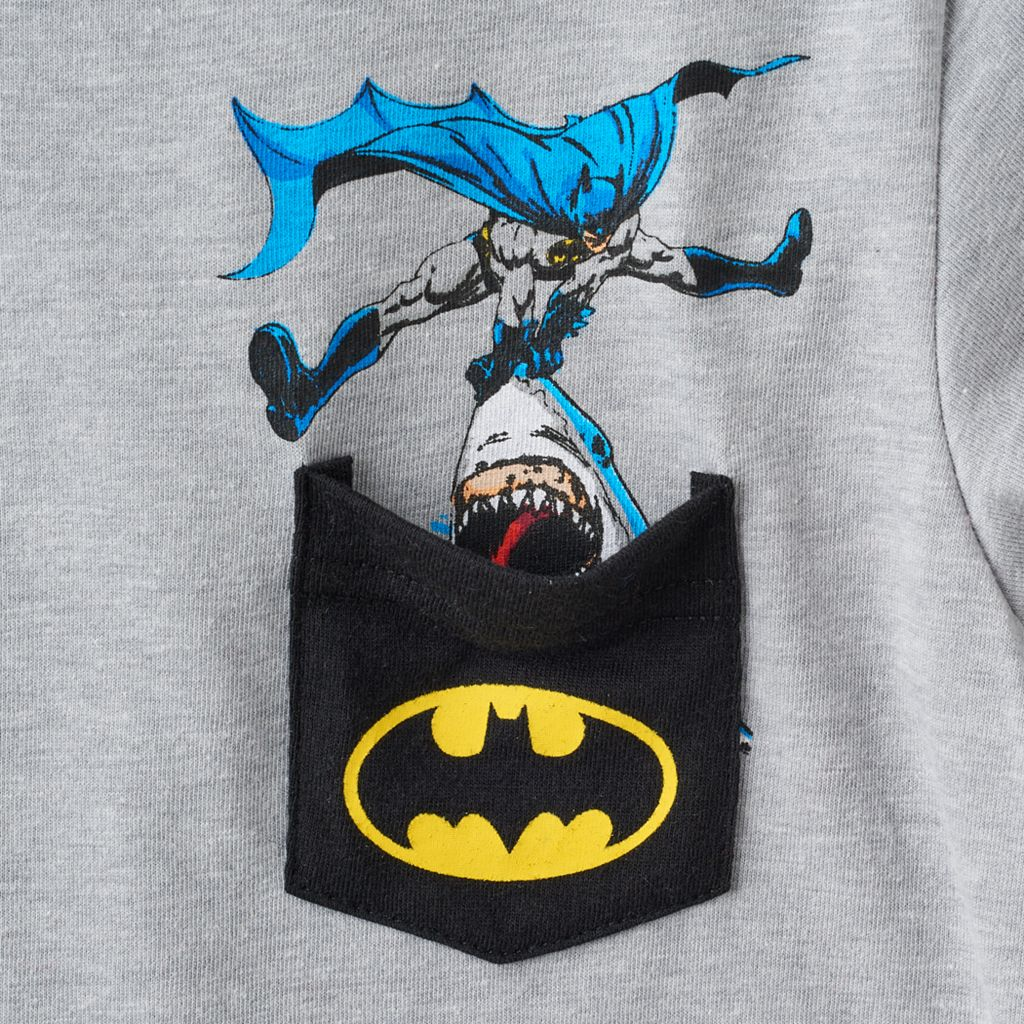 Toddler Boy Batman Pocket Graphic Tee