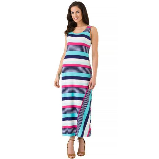 Women's Haggar Striped Tank Maxi Dress
