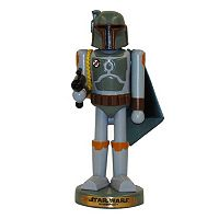 Kurt Adler 10-in. Star Wars Boba Fett Christmas Nutcracker