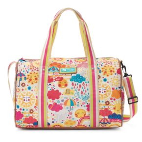 Lily Bloom Patterned Overnight Travel Bag