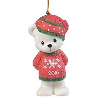 Precious Moments Snowflake Bear 2016 Christmas Ornament