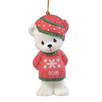 Precious Moments Snowflake Bear 2016 Christmas Ornament