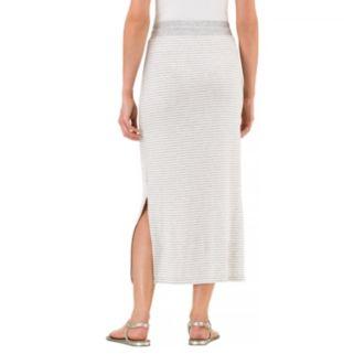 Women's Haggar Striped Maxi Skirt