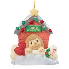 Precious Moments Home For The Howlidays 2016 Christmas Ornament