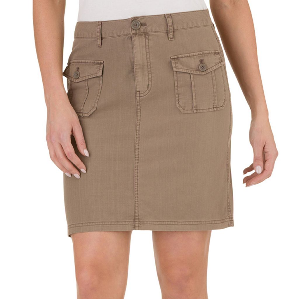Women's Haggar Cotton Skirt